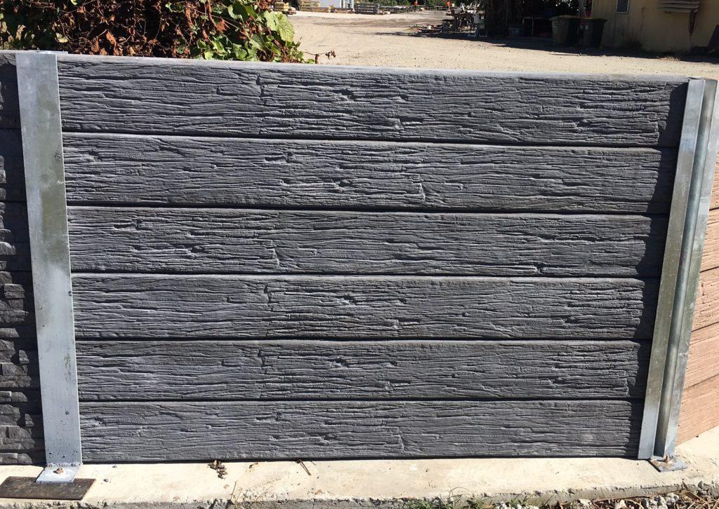 Concrete Sleeper Retaining Walls Stacked Stone Concrete