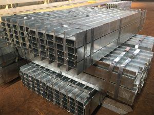 Steel H posts